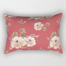 Vintage pattern red Rectangular Pillow