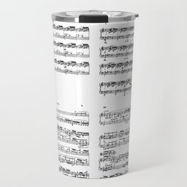 well-tempered clavier Travel Mug