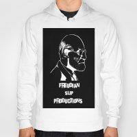 freud Hoodies featuring Freud by Freudian Slip Producions