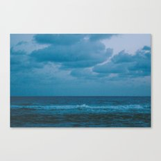 To The Lonely Sea and The Sky Canvas Print