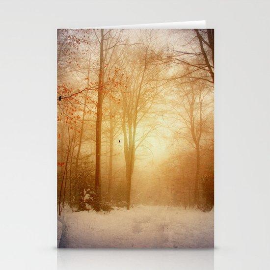 warm wintEr glOw Stationery Cards