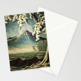 5 Lakes at Moonlight Stationery Cards