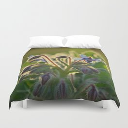 The Beauty of Weeds Duvet Cover