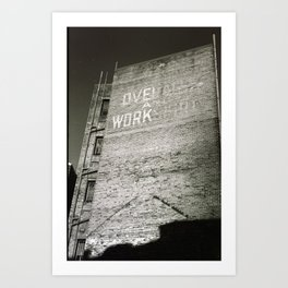 Warehouse Art Print