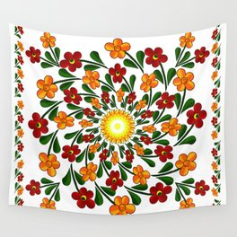 Spring Flowers Wall Tapestry