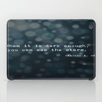 quotes iPad Cases featuring Quotes by Kayla Phan