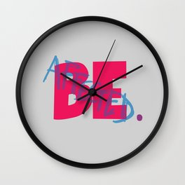 Affected Wall Clock