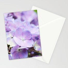 Light Purple Hydrangea Stationery Cards