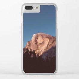 Yosemite Sunset II Clear iPhone Case