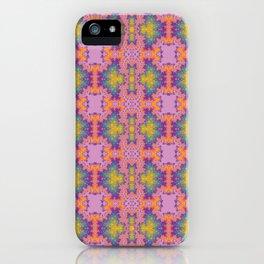 Purple scarab iPhone Case