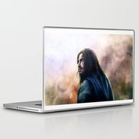 kili Laptop & iPad Skins featuring Kili (The Hobbit) by Grazia Vincoletto