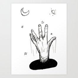 Reach For the Heavens Art Print