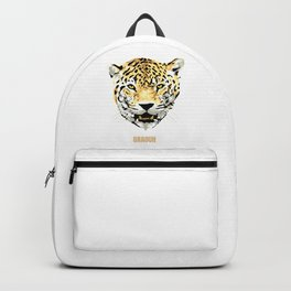 Leopard Graouh Funny Leopard Lover Gift Backpack