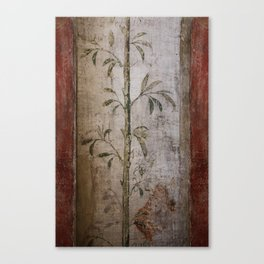 Antique wall painting Canvas Print