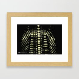 Manhattan Skyline Series 007 Framed Art Print