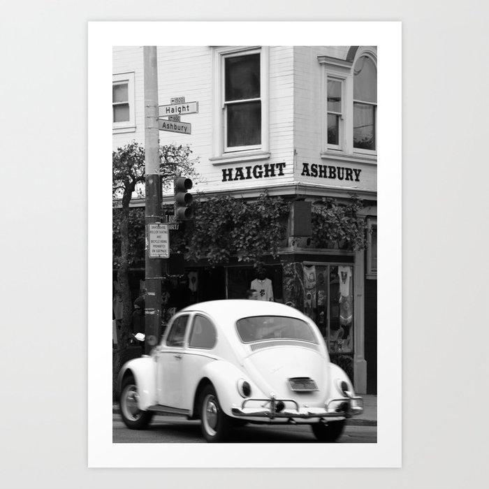 Haight Ashbury Beetle Kunstdrucke