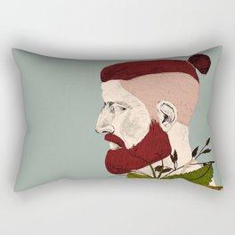 Rendered In Hipster Rectangular Pillow