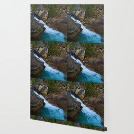 Beauty Creek & Stanley Waterfalls in Jasper National Park, Canada Wallpaper