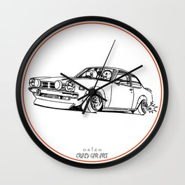 Crazy Car Art 0190 Wall Clock