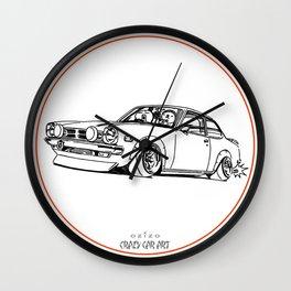 Crazy Car Art 0190 Wall Clock