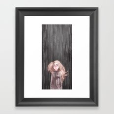 Awaiting For the Rain Framed Art Print