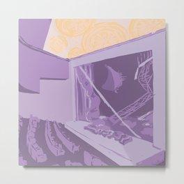 Purple Proscenium Metal Print