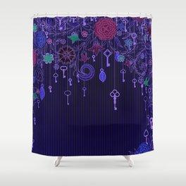 Garden Keys Shower Curtain