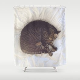 Furball Shower Curtain