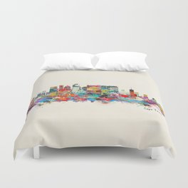 Cape Town South Africa Duvet Cover