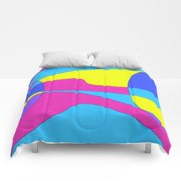 Colors in Sound Neon Comforters