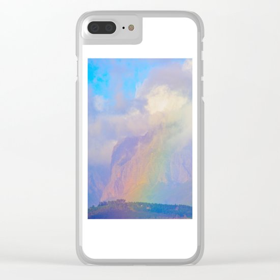 Colors of Hope Clear iPhone Case