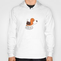 beagle Hoodies featuring Beagle by Paul Turcanu