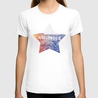 hollywood T-shirts featuring Hollywood by Laura Ruth