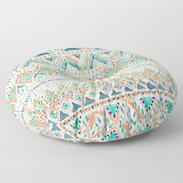 BALLIN' TRIBAL Boho Summer Geometric Floor Pillow