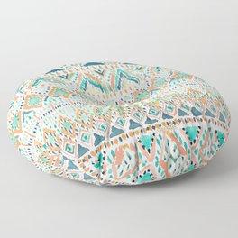 BALLIN' TRIBAL Boho Summer Geometric Floor Pillow