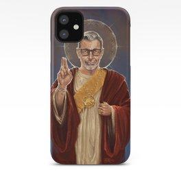 Saint Jeff of Goldblum iPhone Case
