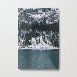 Emerald Waters Metal Print