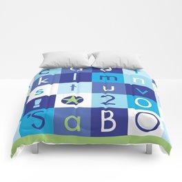 Alphabet_It's a boy_BABY BLUES 2012 Comforters