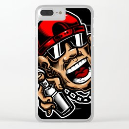 Bad boy Clear iPhone Case