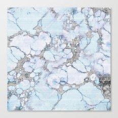 Mod Marble Canvas Print