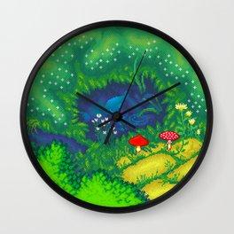 Little pond Wall Clock