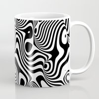 trippy Mugs featuring Trippy Background by Danny Ivan