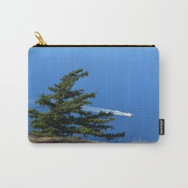 RELATIVITY OF BOAT AND LAND ORCAS ISLAND Carry-All Pouch