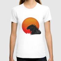 godzilla T-shirts featuring Godzilla by Maguire