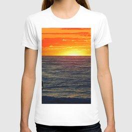 Paddle Boarding at Sunset T-shirt