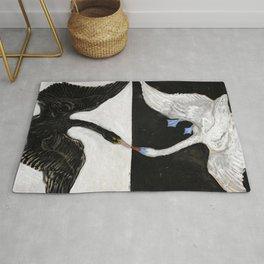 Hilma Af Klint The Swan No 1 Restored Rug