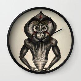 2016, 9º Mono de Fuego Wall Clock