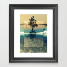 Lovers (On Another Planet's Hell) Framed Art Print