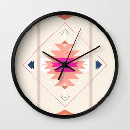 Kilim Inspired Wall Clock