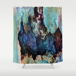 Rust-ic Shower Curtain